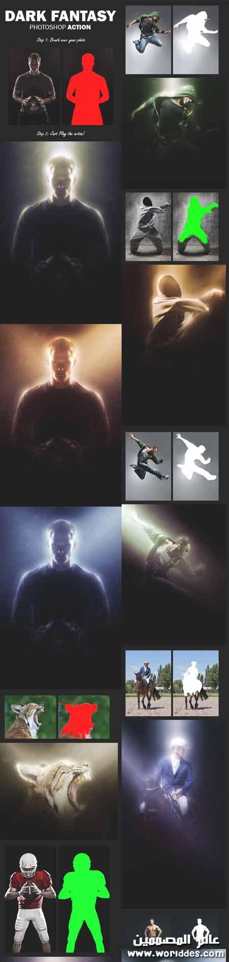 اكشن اضاءة ليلية الصور جديدة