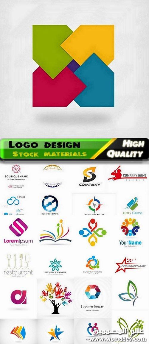 مجموعة لوجوهات جديدة Logo design