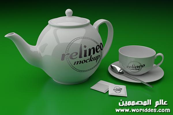 مجات وفناجين الشاي لوضع هويات
