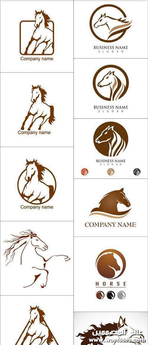 لوجوهات خيول جديد مقدمة عالم
