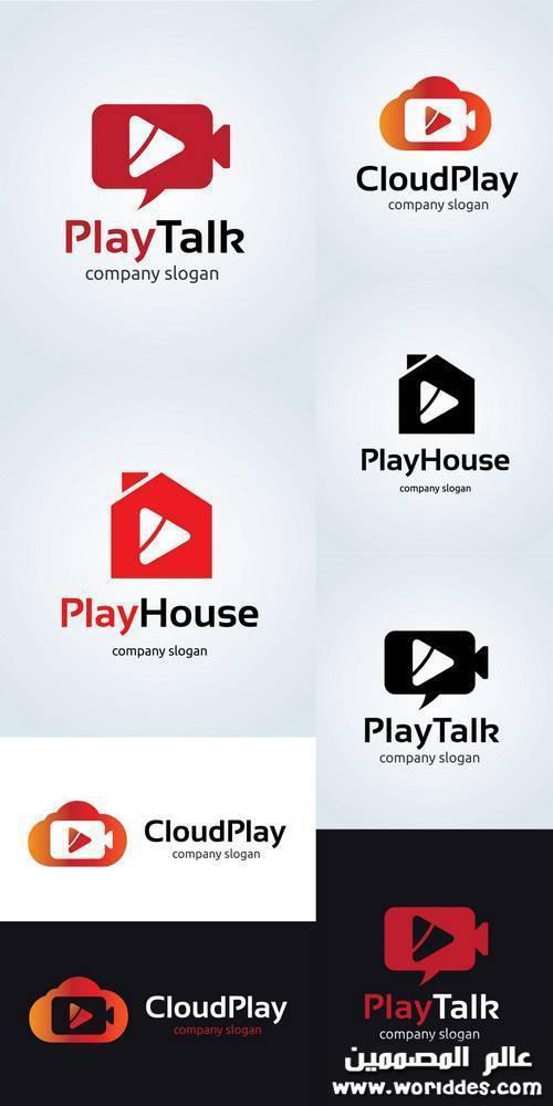 لوجوهات وسائل التشغيل والالعاب Play