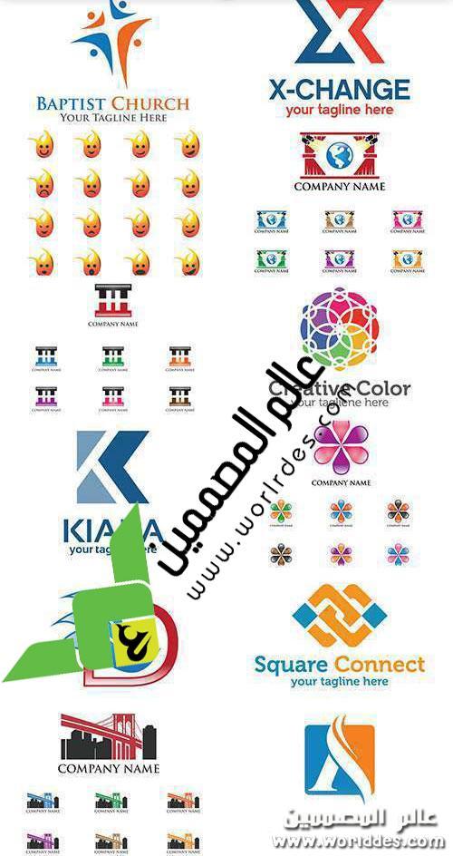 لوجوهات متنوعه مميزة تفوتكم logo