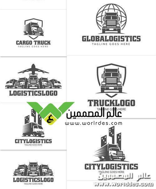 شعارات لسيارات الشحن مقدمة موقع