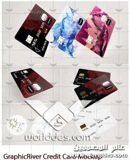 بطاقة ائتمان Plastic Credit Card