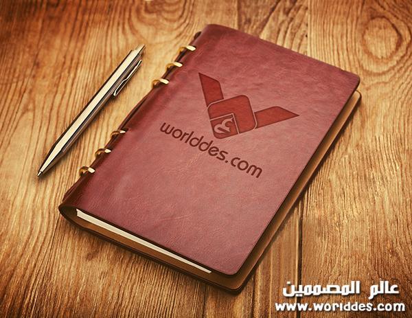 دفتر لعرض اللوجوهات Notebook Emboss