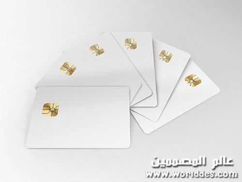 بطاقات ائتمان Credit Cards Mockup